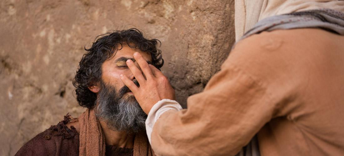 Isus ga upita: »Što hoćeš od mene?« »Učitelju«, zamoli slijepac, »učini da progledam!«