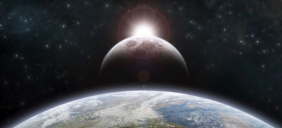 Bit će znaci na Suncu, Mjesecu i zvijezdama. Na zemlji će među narodima vladati strašno očajanje od buke i huke mora.